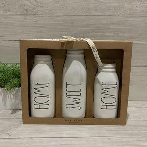 Rae Dunn Milk Glass Vases